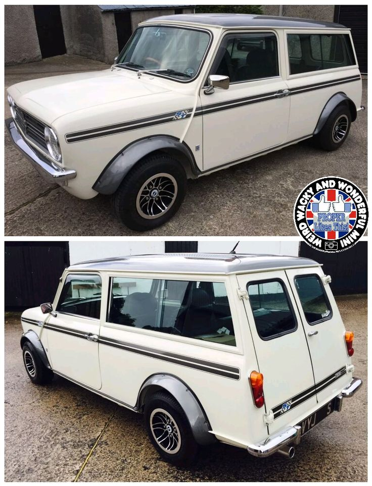 It's HUMP DAY Miniacs! We get the Wide Arched Wednesday wheels rolling with a beautiful Clubby Estate sporting some chunky lil arches & a sweet stance Have a great day folks