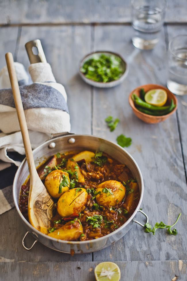 spicy egg curry @playfulcooking