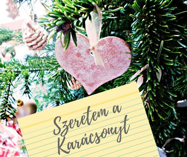 NB Kreatív Manufaktúra: Szeretem a Karácsonyt