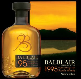 Balblair whiskies available from Whisky Please.