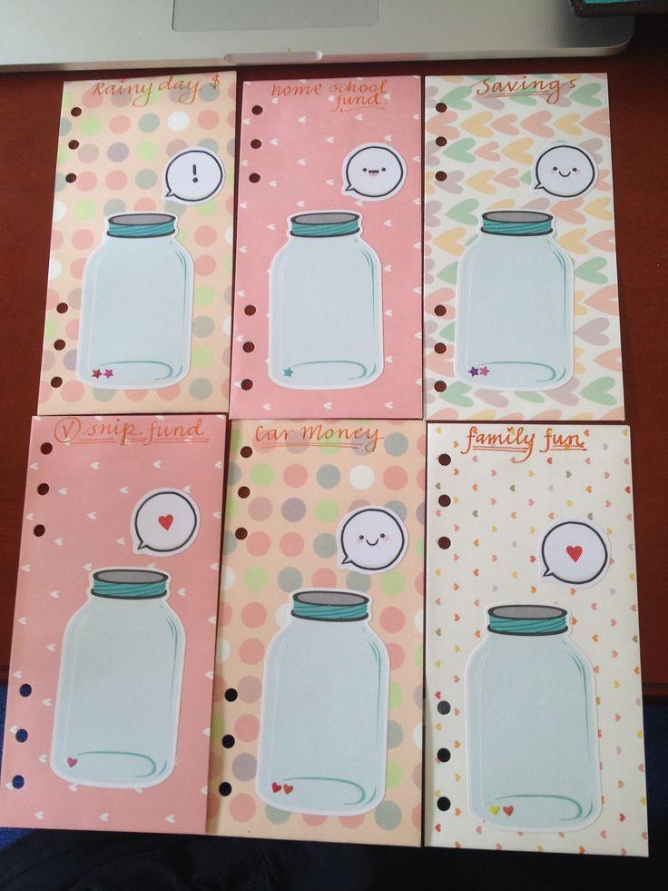 budgeting in my planner  u2013 envelope style