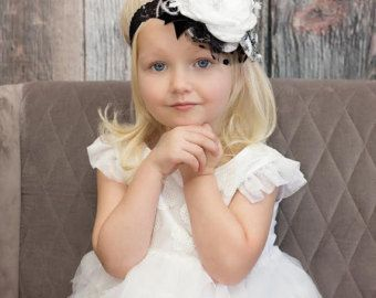 Baby Couture rosa bebé diadema diadema infantil por lepetitejardin