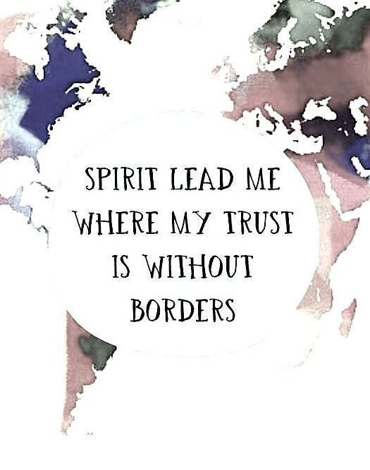 """Spirit lead me where my trust is without borders. Let me walk upon the waters, in the presence of our Savior!"" ""So I will call upon your name and keep my eyes above the waves when oceans rise my soul will rest in your embrace for I am yours and you are mine!"""