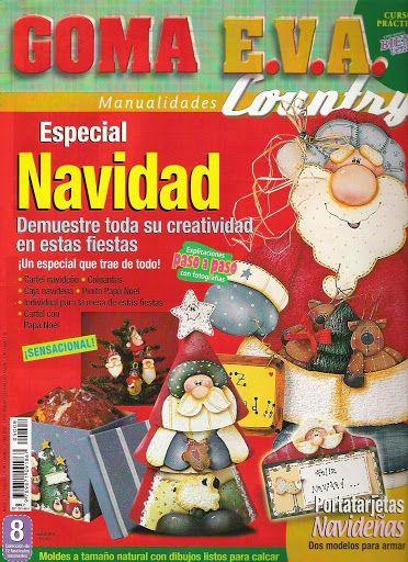 Bienvenidas Goma Eva Country Especial Navidad N08 - Eva Arte - Álbumes web de Picasa