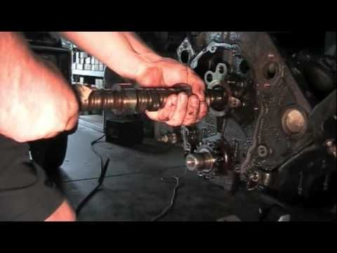 Engine build part 3 - YouTube