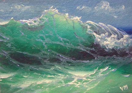 371 Caribbean Wave ACEO open edition by vladimirmesheryakov, $2.99