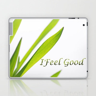 I feel good Laptop & iPad Skin by Tanja Riedel - $25.00