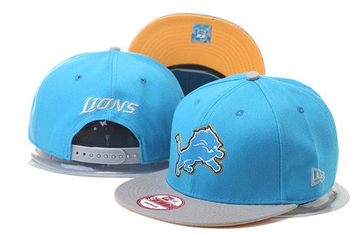 Detroit Lions Snapback Hats Caps 2015 NFL Draft 9FIFTY Retro