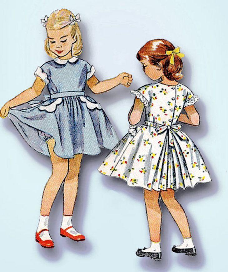 c437a7d71 Pin de Rosario Vazquez en figurines de moda | Vestidos para niñas ...
