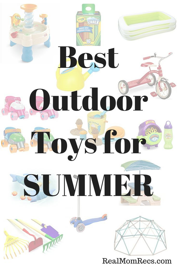Best Outdoor Toys for Summer     /     Kids Favorite Toys for Outside