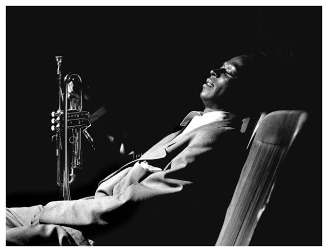 Miles Davis by Herman Leonard