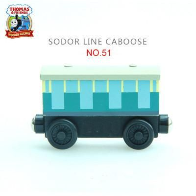 Thomas and His Friends -NO.28-57 Wooden Magnetic Trains Model Christmas Toys Gifts for Kids Tender Mavis Diesel Annie Clarabel