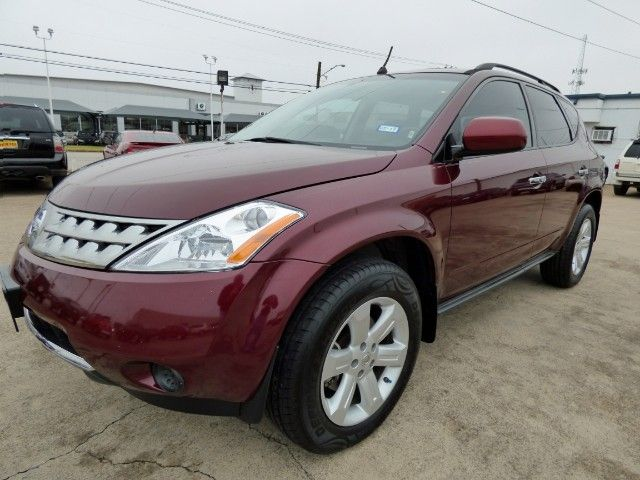 Sculpted SUV! You'll Love Driving Home in This Beautiful 2007 #Nissan #Murano S #SUV with a Power Sunroof, Just 81K & a Clean CARFAX for Only $8,998! -- http://hertelautogroup.com/2007-Nissan-Murano/Used-SUV/FortWorth-TX/8697496/Details.aspx  #nissanmurano #firstcar #goodcar