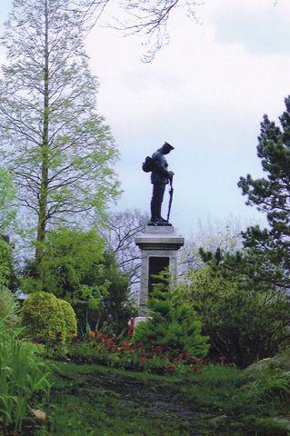 War memorial at Clitheroe, Lancashire