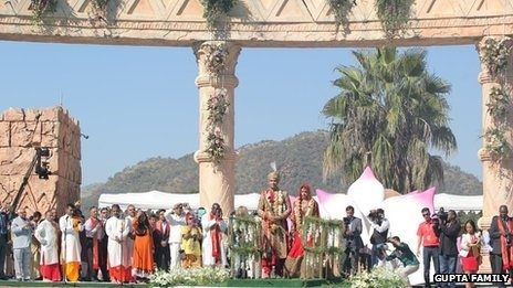 The Gupta family wedding mess in South Africa