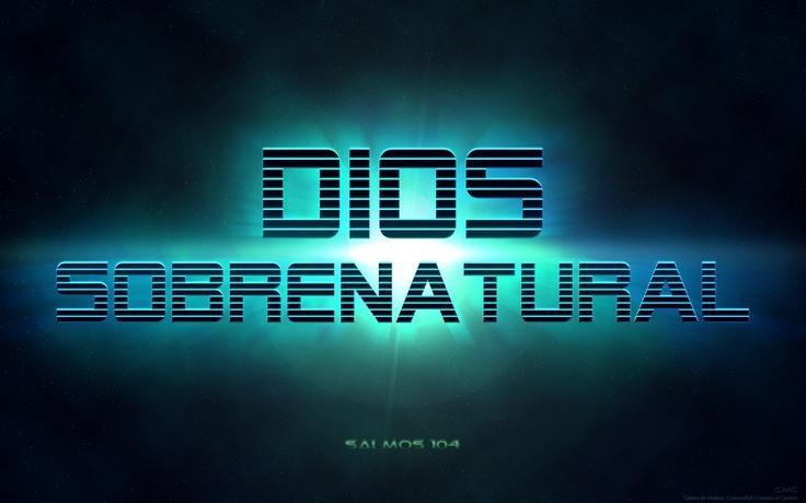 Dios Sobrenatural