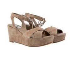Splendour Beige suede high heel Italian sandals