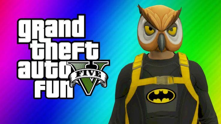 GTA 5 Online Funny Moments - Halloween Preparation, Batman, Dark Knight ...