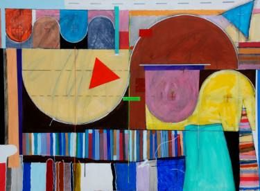 "Saatchi Art Artist Michael Newman; Painting, ""Mexican Wave"" #art"