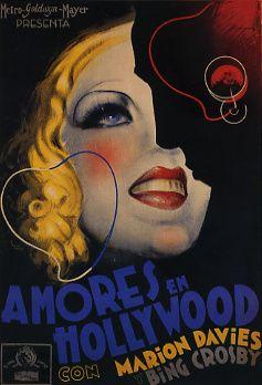 AMORES EN HOLLYWOOD. Cartel de cine Autor     Josep Morell Año     1935