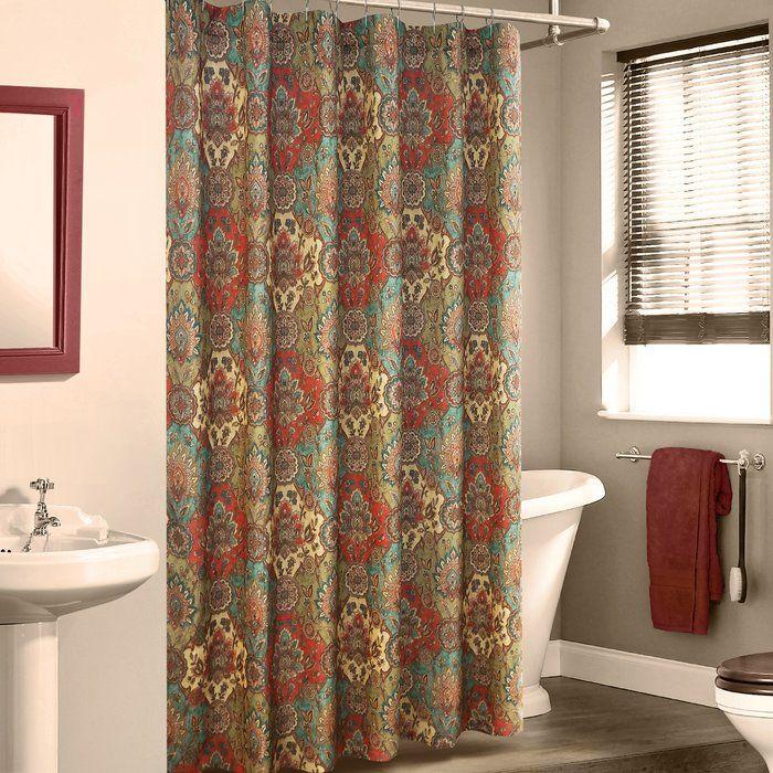 Fantine Linen Single Shower Curtain Custom Shower Curtains