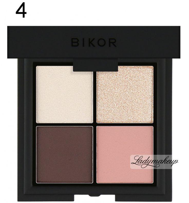 Bikor - MOROCCO - 4 PRECIOUS EYE SHADOWS - Zestaw 4 cieni do powiek - 4