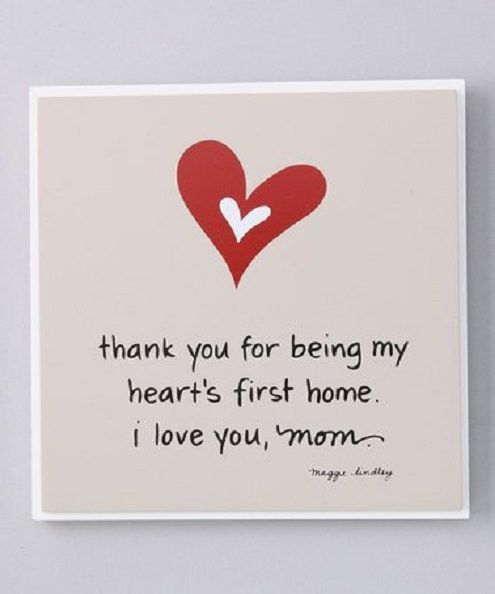 Love You Thank You Quotes: 25+ Best Thank You Mom Quotes On Pinterest