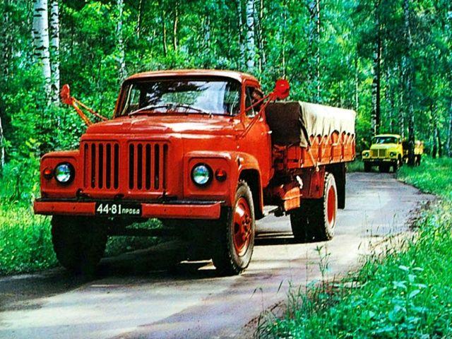 ГАЗ 53-11 Опытный 1973