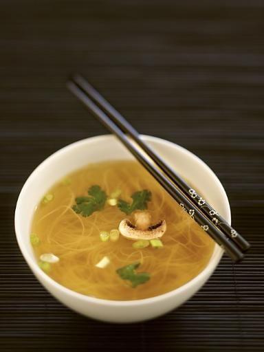 Recette Soupe chinoise express, notre recette Soupe chinoise express - aufeminin.com