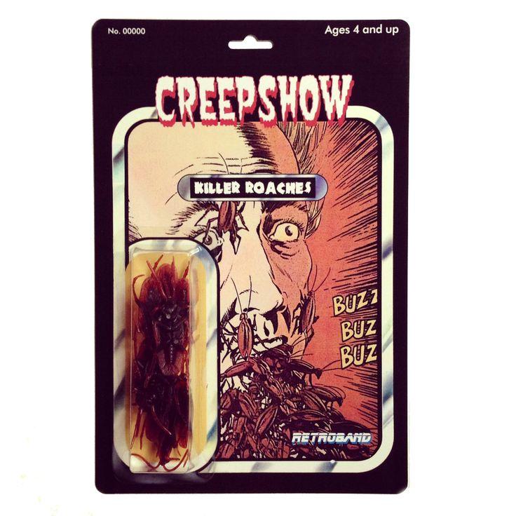Creepshow Custom Action Figure Killer Roaches Maniacs