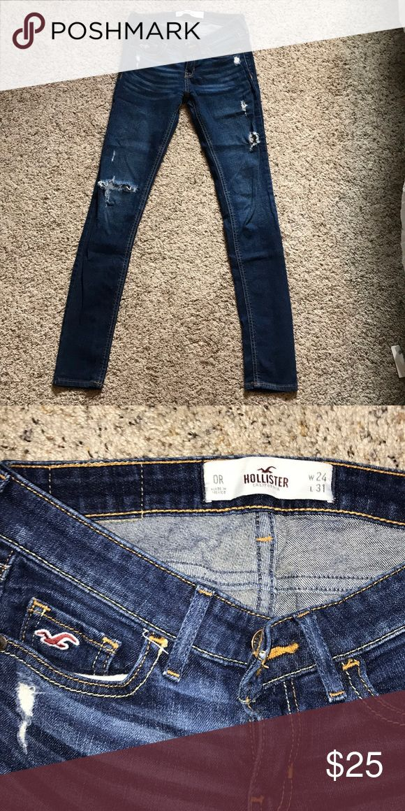 hollister ripped jeans ebay - 580×1160
