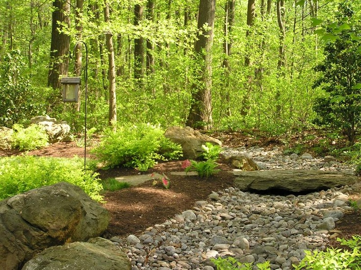 images about Dry River Bed Ideas on Pinterest Zen