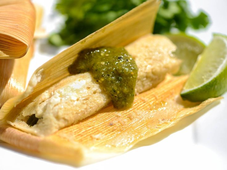 Tamales With Rajas and Oaxacan Cheese Recipe | Serious Eats