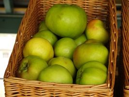 Apples- Yum  http://www.acs.edu.au/info/natural-health/mental/influencing-childrens-eating-habits.aspx