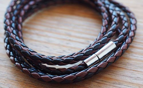 Minimal in its styling, The Adderley is made from leather with a subtle but sturdy toggle clasp, it's time to add that extra edge to your next outfit. #leather #bracelet #accessories #menswear  Check out this: http://dappervigilante.com/