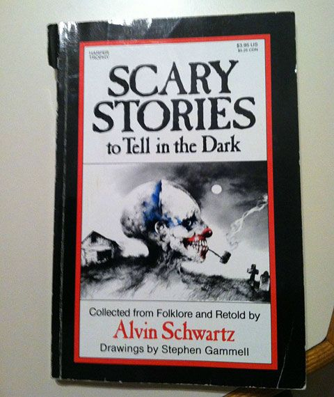 Scary Stories to Tell in the Dark. Oh man, this brings back