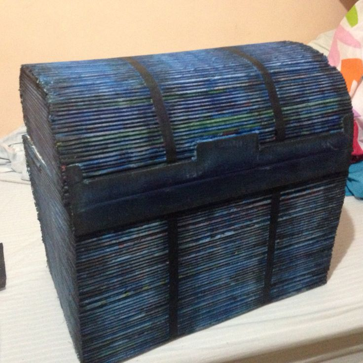 Baúl papel reciclado 3