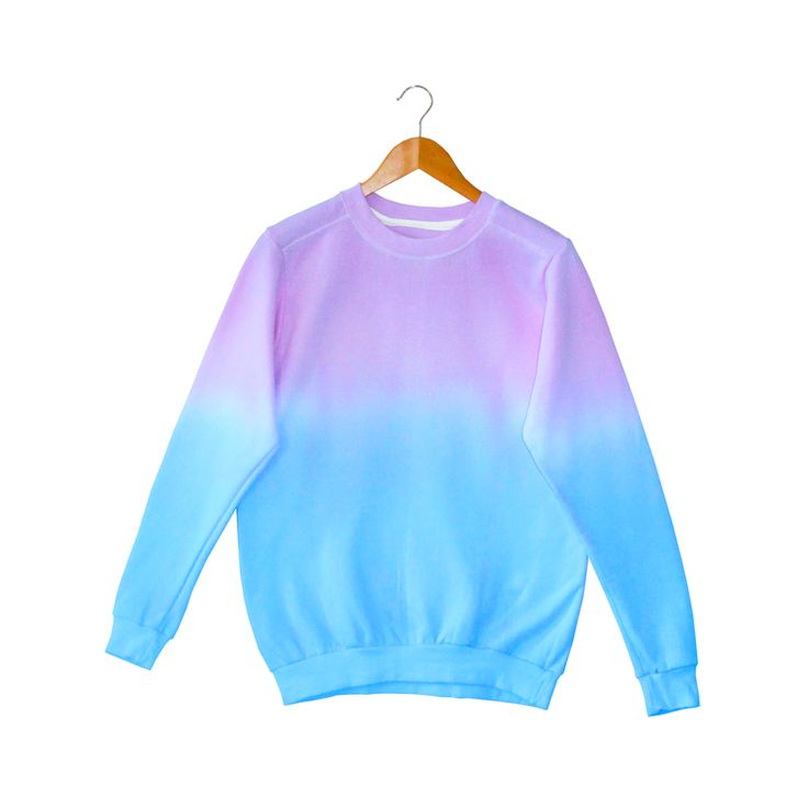 Ombre Jumper - Blue/Purple | Pastel Dolly | Pinterest ...