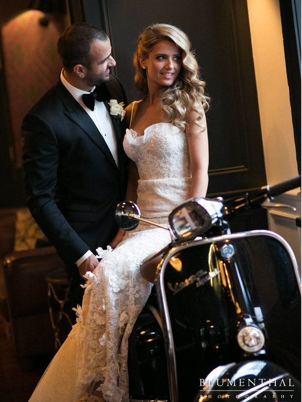Our bride Simone celebrates her wedding in Melbourne, wearing this exquisite gown