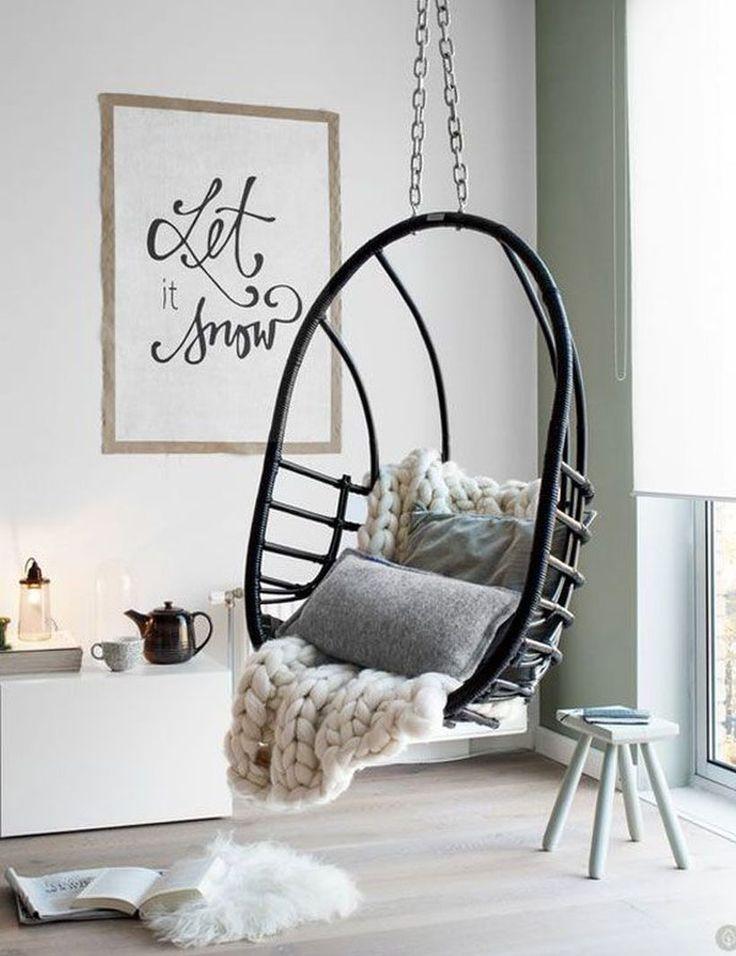 The 25+ best Indoor swing ideas on Pinterest | Bedroom swing ...