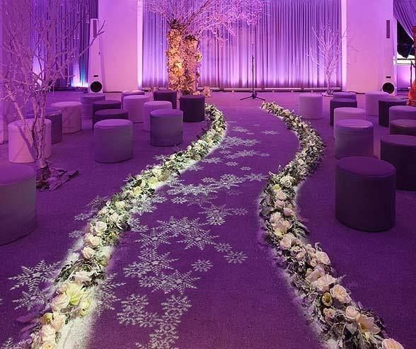 fantastic lighting design on this aisle and alter design 3 aisle runners lighting alter lighting