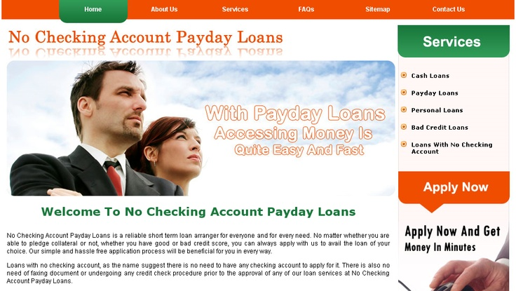 get money now with no bank account