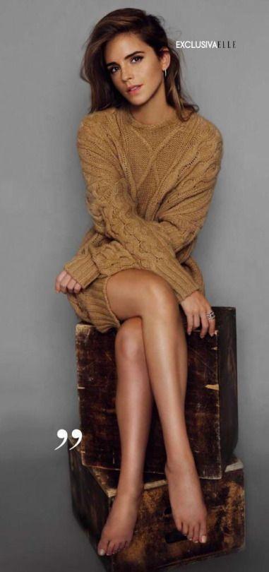 Emma Watson photographed by Bernardo Doral for ELLE Spain (October 2015)