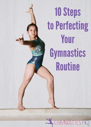 perfect your gymnastics routine