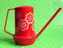 Lovely vintage watering can from Brabantia!