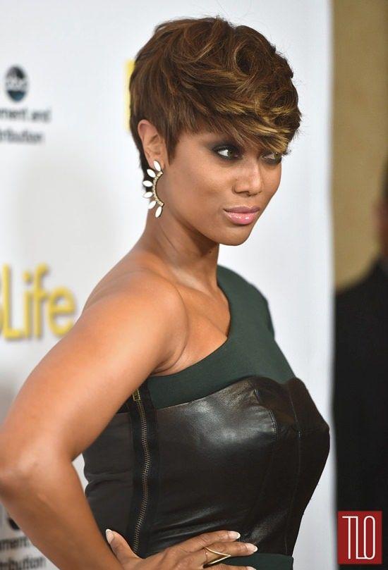 Pleasant 1000 Ideas About Tyra Banks Short Hair On Pinterest Haircuts Short Hairstyles Gunalazisus