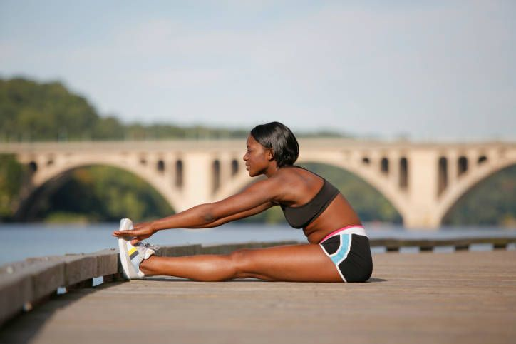The 6 Best Exercises for New Runners. Especially good for runners working on form; builds core, improves weak shoulders & poor posture, and weak/unstable hips!