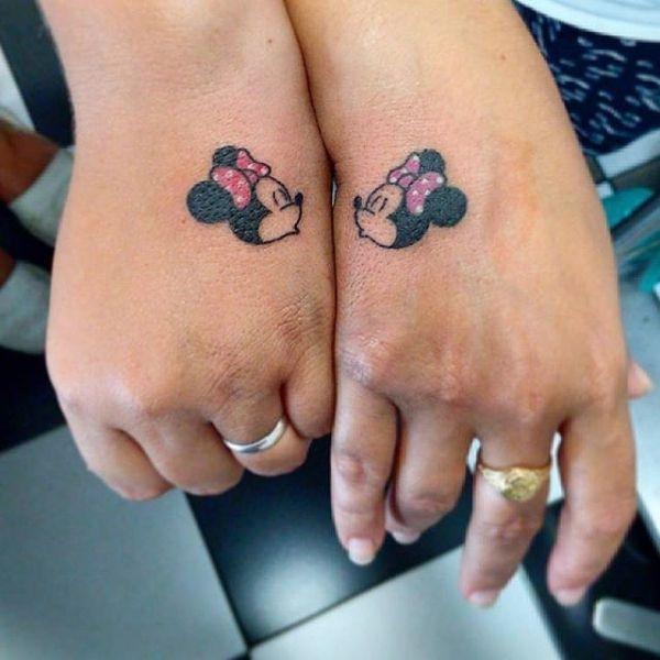 1000 ideas about matching disney tattoos on pinterest disney tattoos compass drawing and tattoos - Tattoo en commun ...