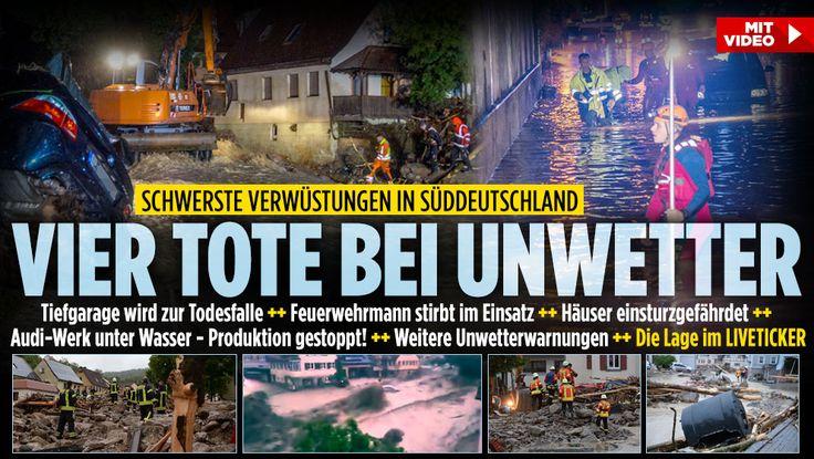 Baden-Württemberg | Vermutlich drei Tote nach Überschwemmungen http://www.bild.de/regional/stuttgart/unwetter/angeblich-drei-tote-nach-unwetter-46035256.bild.html