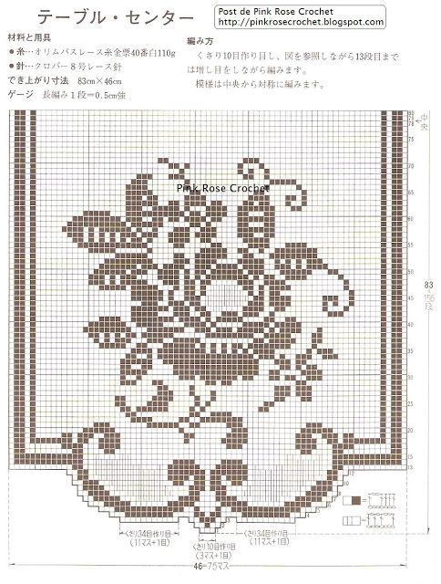 Floral filet crochet wall/window hanging. Combine two to make a table runner.